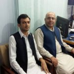 Adnan Aamir with Jan Achakzai